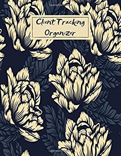 Client Tracking Organizer: Large Client Data Profile Notebook Tracker & Record Keeping Log Book for Fashion Salons Lashes Nails Hair Stylists Barbers Make Up Artists Therapists Estheticians Dog Groomers & More