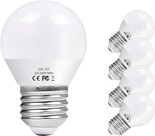 Vicloon E27 żarówka LED G45, E27 żarówka LED 6 W, zastępuje żarówki 60 W, 600 lumenów, 6500 K zimna biel, AC 220 V-240 V, ...