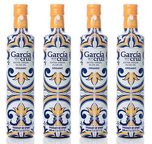 García de la Cruz - Aceite De Oliva Virgen Extra Ecológico Orgánico, Premium...