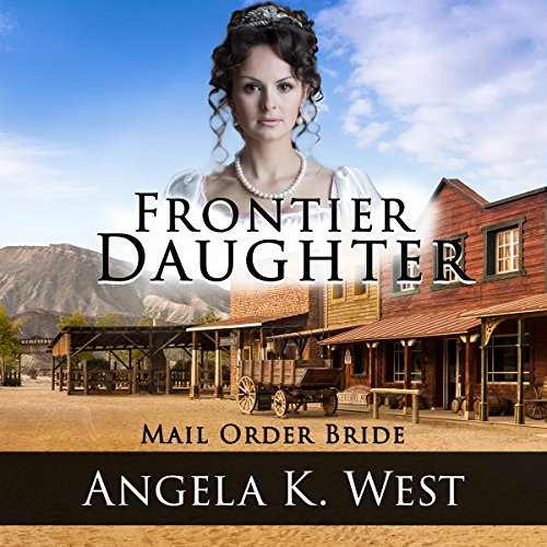 Frontier Daughter audiobook cover art