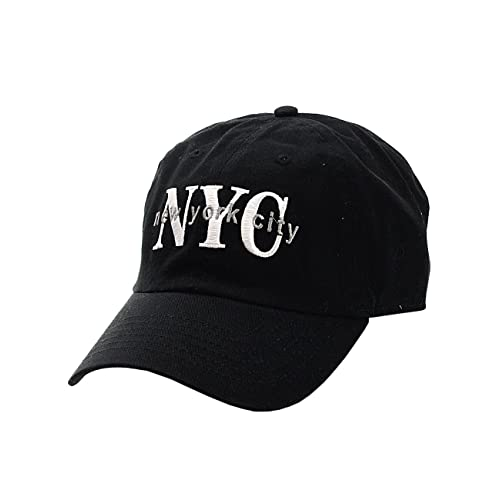 1a729e11274 NYFASHION101 Unisex NYC New York City Embroidered Adjustable Low Profile Cap