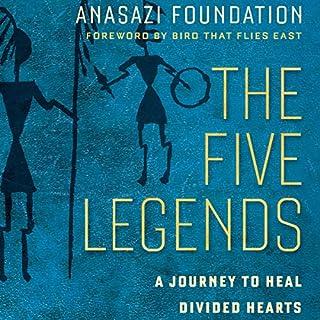 The Five Legends audiobook cover art