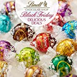 Lindt Lindor Assorted Chocolate Truffles 5-6 Flavors 60 Count In the Deluxe Tundras Gift Box Kosher...