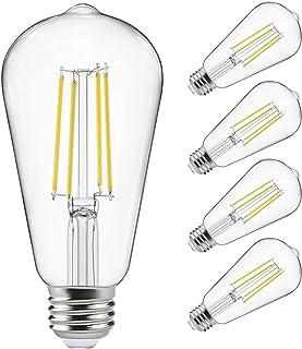 Vintage LED Edison Bulbs 60 Watt Equivalent, Eye Protection Led Bulb with 95+ CRI ,..