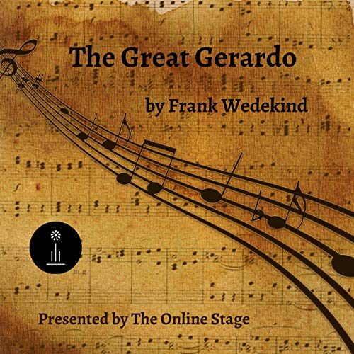 The Great Gerardo by Frank Wedekind cover art