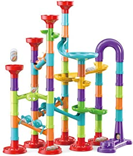 113 Pieces 3D Marble Run Set Construction Building Blocks STEM Learning Toy Early Education for Age 3+ Boys & Girls JoyBuy...