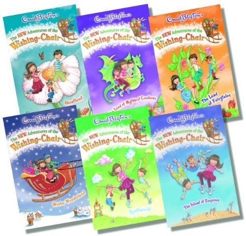 The New Adventures of the Wishing Chair Collection, 6 books, RRP £29.94 (The Land of Mythical Creatures; Spellworld; Giantland; The Island of Fairytales; Winter Wonderland; The Island of Surprises) (The New Adventures of the Wishing-Chair)