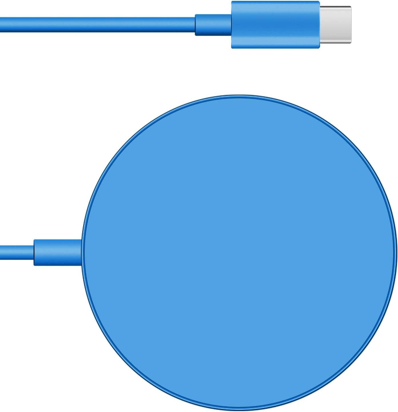 Cargador inalámbrico magnético p/MEGSAFE USB C iPhone 12