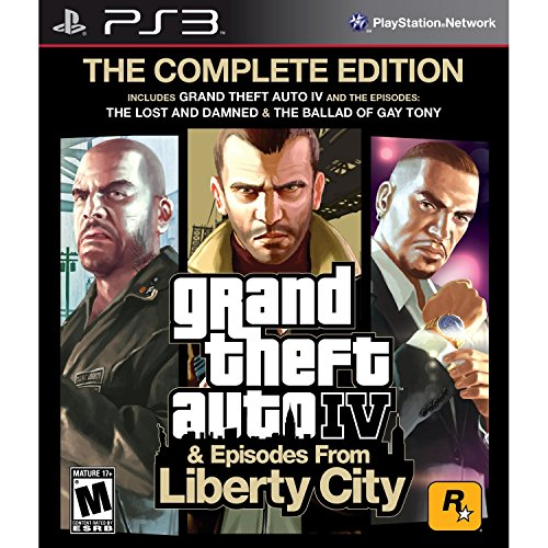 GTA 4 COMPLETE EDITION (IV+EFLC) PS3 UK