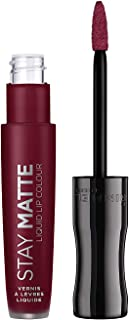 Rimmel London Stay Matte Liquid Lip Colour Barra De Labios Tono 810 (Plum This Show) 5.5 ml