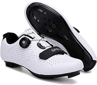 Racefiets Fietsschoenen voor heren, mountainbike met compatibele Cleat SPD/SPD-SL MTB voor outdoor fietsschoenen geschenke...