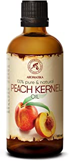 Aceite de Semilla de Durazno 100ml - Prunus Persica - Italia - 100% Puro y Natural - Botella de Vidrio - Aceite de Durazno...