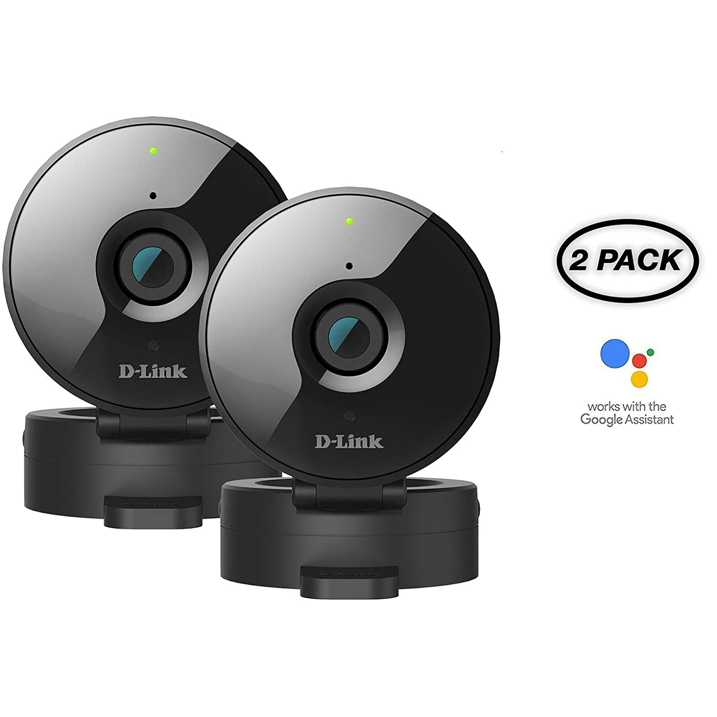 D-Link 2-Pack Wireless-N Network Surveillance 720P Home Internet Camera DCS-936L (Renewed)