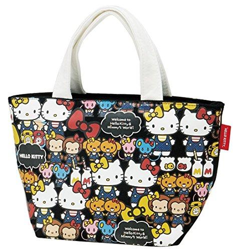 Skater Sac à Lunch,bento,repas Taille S Hello Kitty (Denim) Sanrio KNB 1
