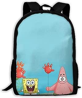 Custom Spongebob and His Friends Casual Backpack School Bag Travel Daypack Gift
