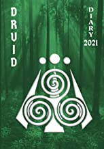 Druid Diary 2021: Weekly Planner (2 pages per week) with Observances/Celebrations for Student/Teacher/Home/Business - Gree...