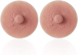 Vollence Adhesive Silicone Nipples Reusable Attachable Nipple