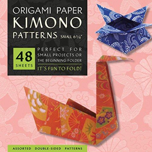 Origami Paper Kimono Patterns Small 6 3/4