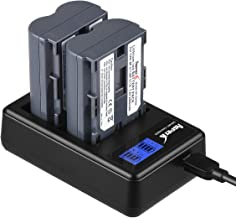 Asperx BP-511 BP-511A Replacement Battery 2 Pack and Rapid Charger for Canon EOS 50D 40D 30D 20Da 20D 10D 5D 300D Digital Rebel D30 D60 PowerShot G6 G5 G3 G2 G1 Pro 1 Pro 90