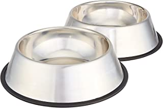 Pets Empire Stainless Steel Dog Bowl (Medium, Set of 2) 700 X 2 ML
