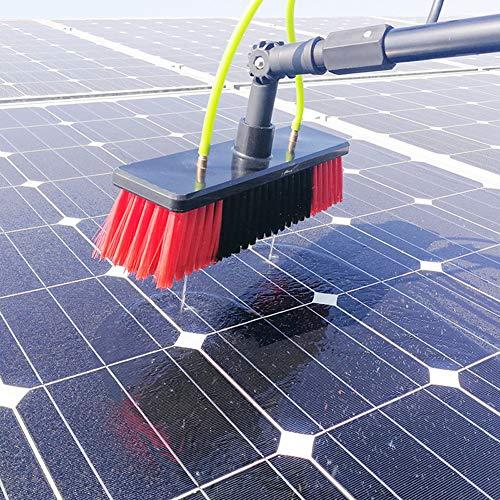 Herramienta De Limpieza De Paneles Fotovoltaicos De 3-12m, Limpiador Extensible Techo De Invernadero, Limpieza De Paneles Pared De Vidrio De Ventana, Para Camiones Lavado De Ventanas / 4M Rod /