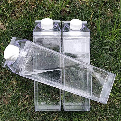 1 unids Reutilizable Deportes Botella de Agua 700ml Deportes Viajes Portátil Portátil Plegable Botella de Agua Botella de Agua Suministro al Aire Libre (Color : 500ml)