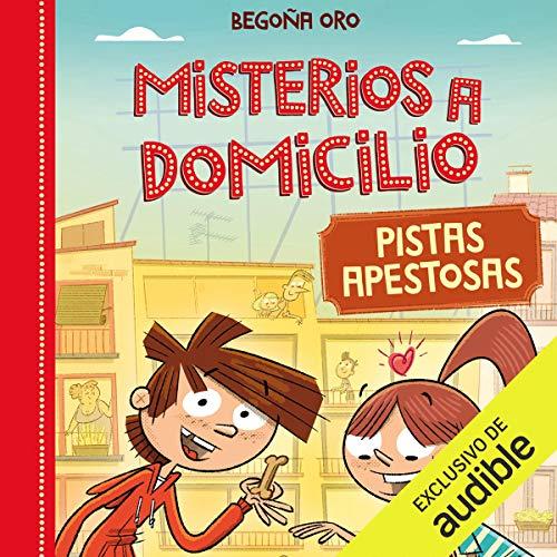 Diseño de la portada del título Pistas Apestosa