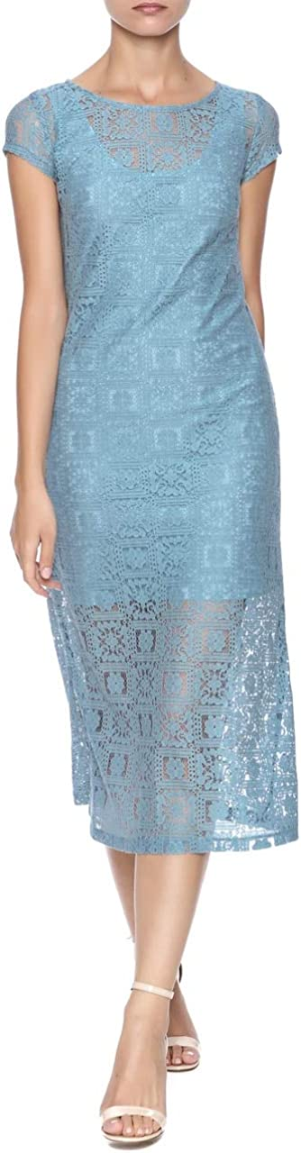 Only Hearts Women's Knee Length Lace Midi Dress