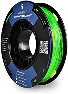 SainSmart - TPU-GRN-0.25KG1.75 SAINSMART 1.75mm 250g Flexible TPU 3D Printing Filament, Dimensional Accuracy +/- 0.05 mm (...