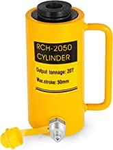 Mophorn 20T 2Inch Hydraulic Cylinder Jack Hollow Single Acting Hydraulic Ram Cylinder 50mm Hydraulic Lifting Cylinders (20T 2Inch Hollow)