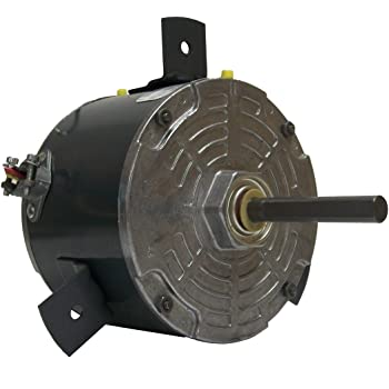 2.6-2.2 Amps 1075 RPM Fasco D803 5.6-Inch Diameter PSC Motor 230 Volts 2 Speed REV Rotation Sleeve Bearing 1//3-1//4 HP