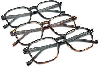 two tone plastic eyeglass frames