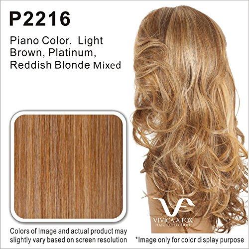 Vivica A. Fox LENI-V New Futura Fiber, HAND-MADE, PS Cap Wig in Color P2216