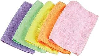 アズマ ゴッシュクロス 5色組 20×30cm マイクロファイバーの雑巾