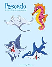 Pescado libro para colorear para niños pequeños (Pescado para niños pequeños) (Spanish Edition)