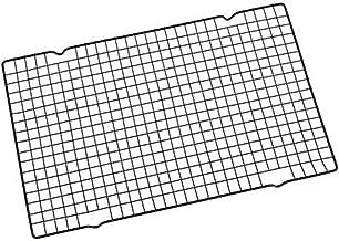"DGJ Stainless Steel Cooling Rack Wire Grid, Wire Pan Grate, Baking Rack, Icing Rack, Carbon Steel, (16"" X 10"") dgj521"