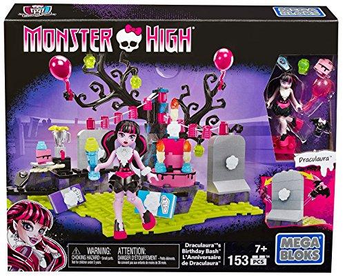 Mega Bloks Monster High Il Compleanno di Draculaura Set Costruzioni