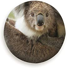 topsaleA Female Koala Young Joey on Her Animals Wildlife Spare Wheel Tire Cover Waterproof Dust-Proof Universal for Jeep,Trailer, Rv, SUV and Many Vehicle 14