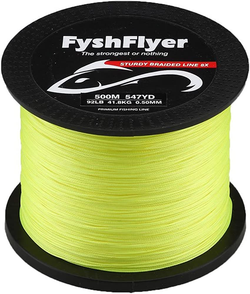 FYSHFLYER 89-140 LB Superpower We OFFer at cheap prices 8X Spasm price Zero Braided Line Fishing Stre