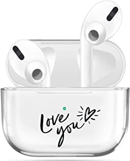 Clear Case Compatible with Airpods Pro Case,Visible LED Shock & Scratch&Slip-Resistant TPU Protective Cover and Skin Gloss...