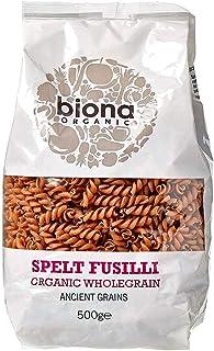 Biona Organic Wholegrain Spelt Fusilli, 500g