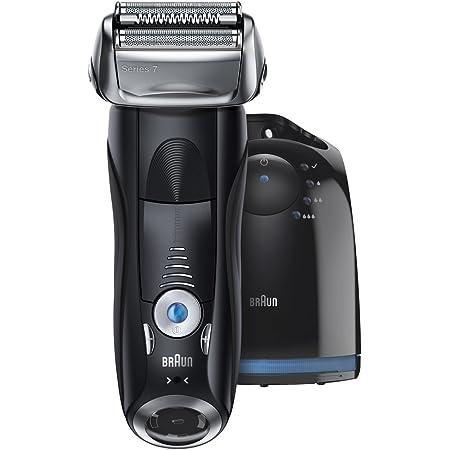 【洗浄器付き】 ブラウン シリーズ7 メンズ電気シェーバー 7760cc 4カットシステム 洗浄器付 水洗い可