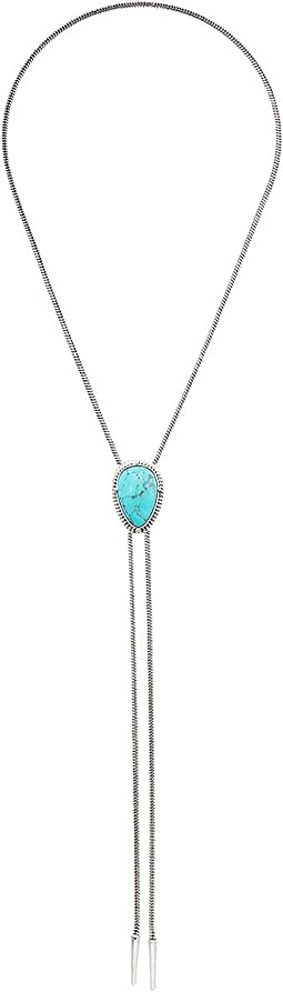 Lucky Brand - Turquoise Bolo Necklace