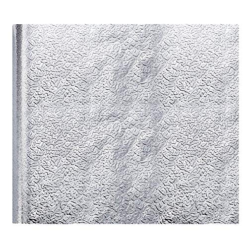 EisEyen Aluminium Folie Klebeband Folie Aufkleber Küchen Selbstklebende Küchenfolie Hitzebeständig Tapete Öl-Resistent Wasserdicht Anti-Schimmel DIY Möbel Folie für Küchen, Schrank, Möbel, Tische