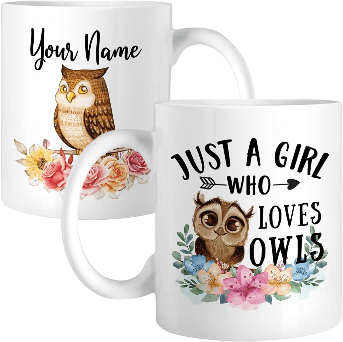 Personalized Coffee Mug For Owl Popular product New York Mall Funnny Wom Gifts Lovers