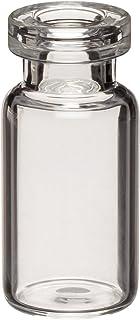 Wheaton 223686 Borosilicate Glass 10mL Serum Tubing Vial, 13mm ID x 20mm OD Mouth, Clear (Case of 144)