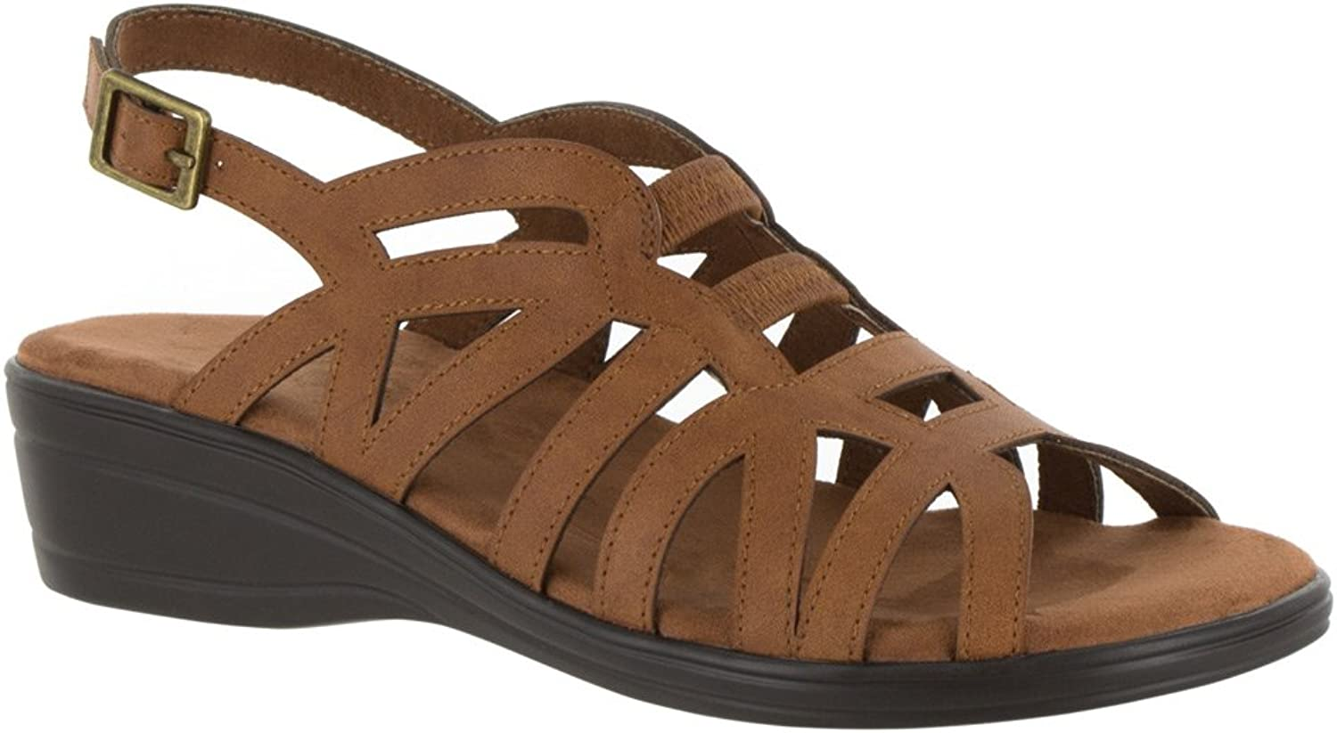 Easy Street Womens Curly Fisherman Sandal
