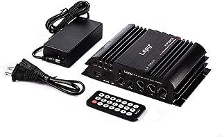 LEPY社コンパクトオーディオアンプ 出力45W+45W+68W 2.1chハイパワーアンプ Bluetooth接続対応 USBメモリ再生機能 5Aアダプター付属 LP-168PLUS
