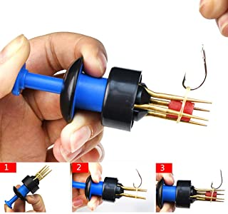 Quaanti 1X Pellet Bander Tool Micro Bait Bands Match Coarse Fishing Terminal Tackle Set Simple and Fast Fishing Accessories (Blue)