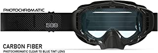 509 Sinister XL5 Goggle (Carbon Fiber/Photochromatic)